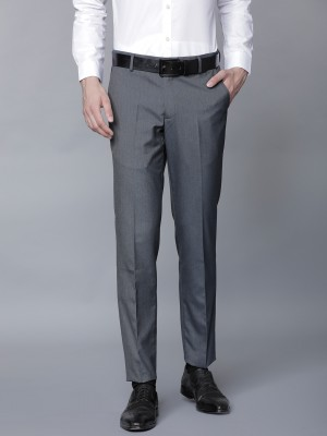 Men Regular Fit Regular Trousers