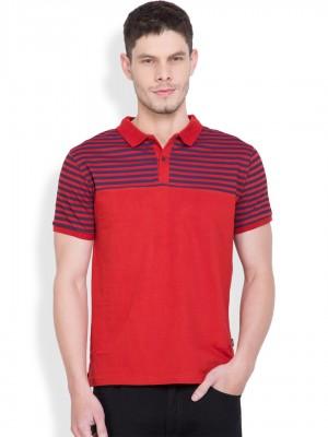 Solid Polo Collar Tshirt