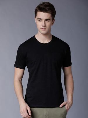 Solid Round Neck Tshirt