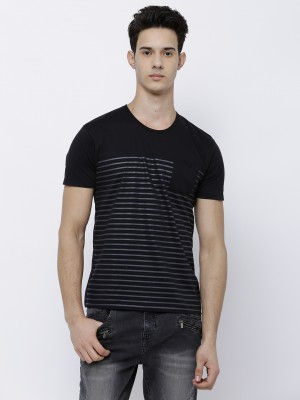 Striped Round Neck Tshirt