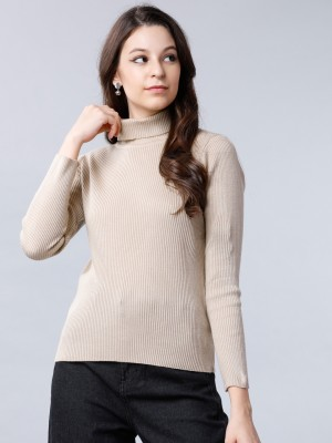 Solid Slim Fit Sweaters