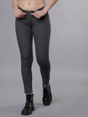 Grey Super Skinny Fit Jeans