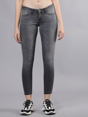 Grey Straight Fit Jeans