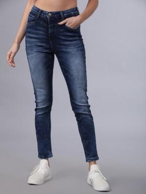 Navy Blue Slim Fit Jeans