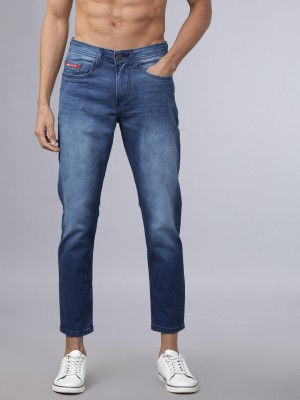 Indigo Tapered Fit Jeans