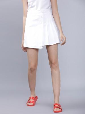Flared Mini Skirt