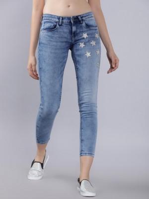 Navy Blue Skinny Fit Jeans