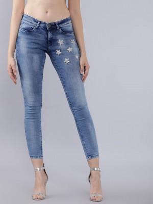 Navy Blue Super Skinny Fit Jeans