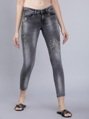 Dark Grey Super Skinny Fit Jeans