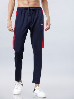 Men Solid Slim Fit Track Pant