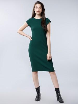 Solid Bodycon Dress