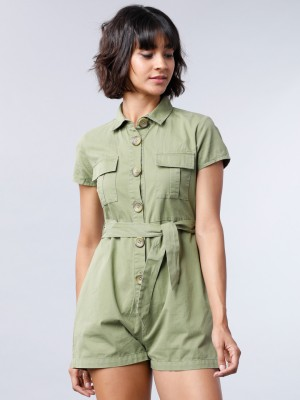 Printed Regular Fit Jumpsuit