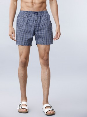Checked Regular Fit Boxer