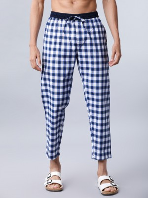Checked Casual Lounge Pant