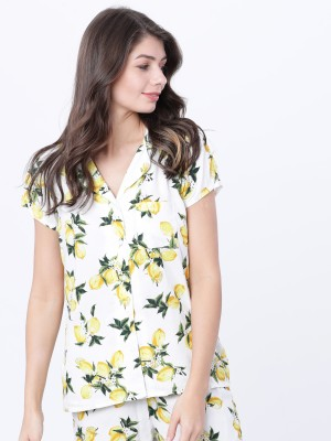 Printed Lounge Shirt