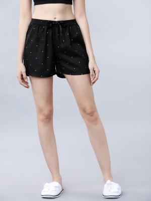 Self Design Regular Fit Shorts