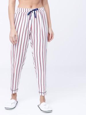 Multicolor Striped Lounge Pant