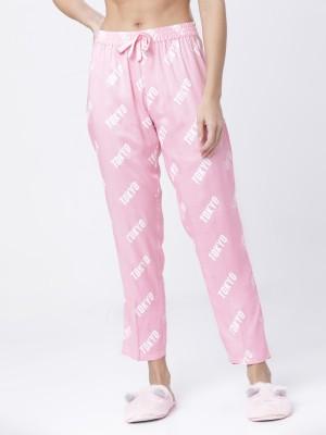 Lt Pink/White Lounge Pant