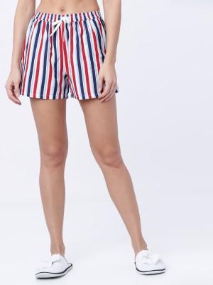 Striped Lounge Shorts