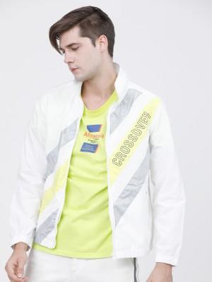 Colourblocked Open Front Jacket