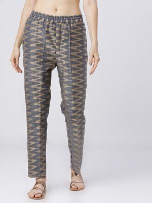 Printed Regular Fit Trousers