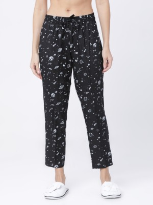 Black/White Lounge Pant