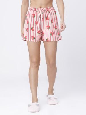 Peach Pink Lounge Shorts