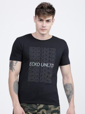 Printed Round Neck Tshirts