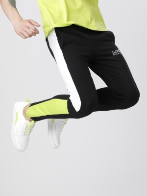 Black Casual Trackpant