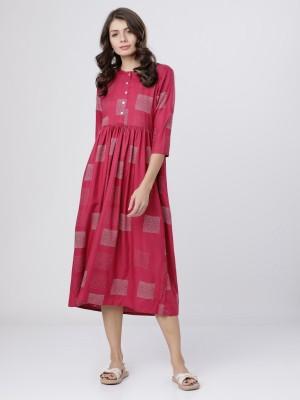 Berry Midi Dress