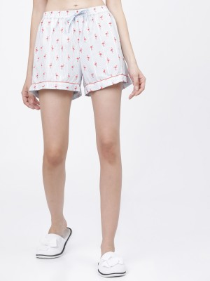 Coral/Blue Lounge Shorts