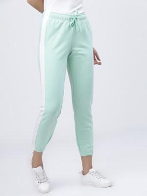 Solid Slim Fit Track Pants