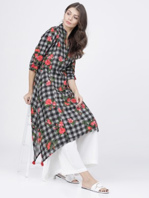 Black/White A Line Kurta