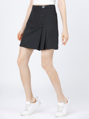 Curved Mini Skirt