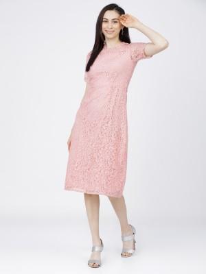 Solid Sheath Dress
