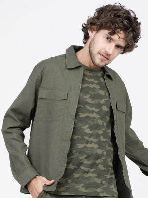 Solid Open Front Jacket