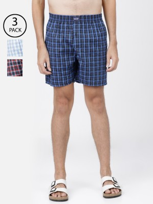 Checked Regular Fit Boxers