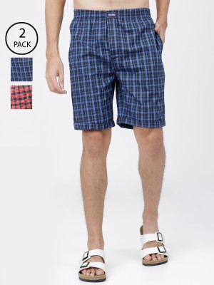 Checked Lounge Shorts