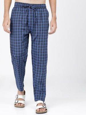 Checked Regular Fit Lounge Pants