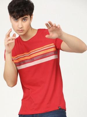 Striped Round Neck Tshirt