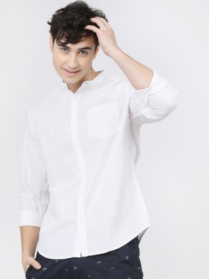 Men Slim Fit Casual Casual Shirt