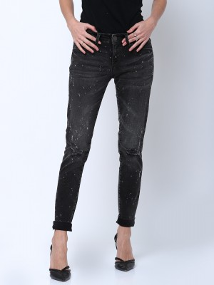 Charcoal Super Skinny Fit Jeans