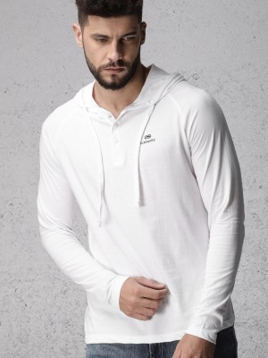 Solid Hooded Tshirt