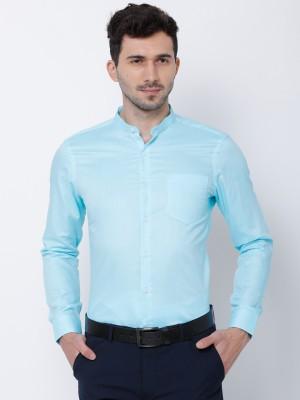 Men Slim Fit Smart Casual Shirt