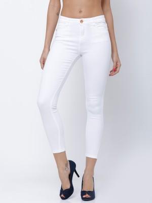 White Super Skinny Fit Jeans