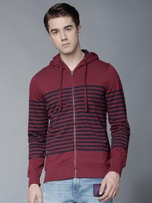 Men Striped Sweatshirts