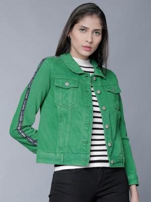 Emerald Denim Jacket