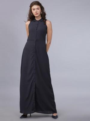 Solid Maxi Dress