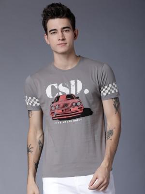 Printed Round Neck Tshirt