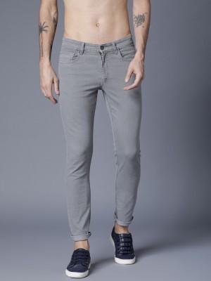 Light Grey Slim Fit Jeans